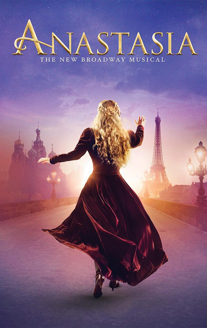 Anastasia the New Broadway Musical Logo