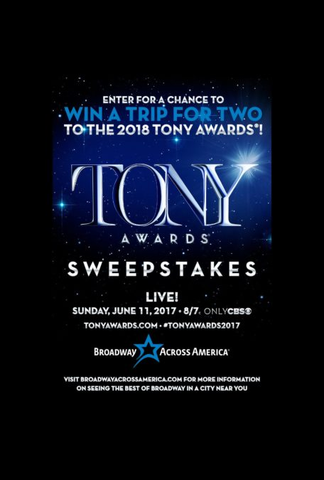 TOUR-Tony Sweepstakes-BAA-4/17