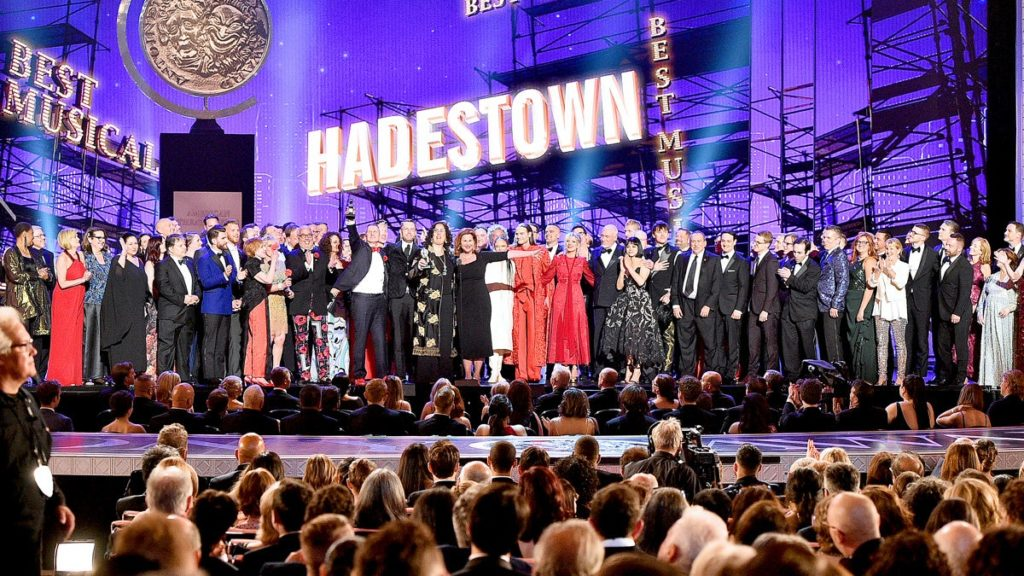 Hadestown - Tony Win - Best Musical - 2019 - Getty Images