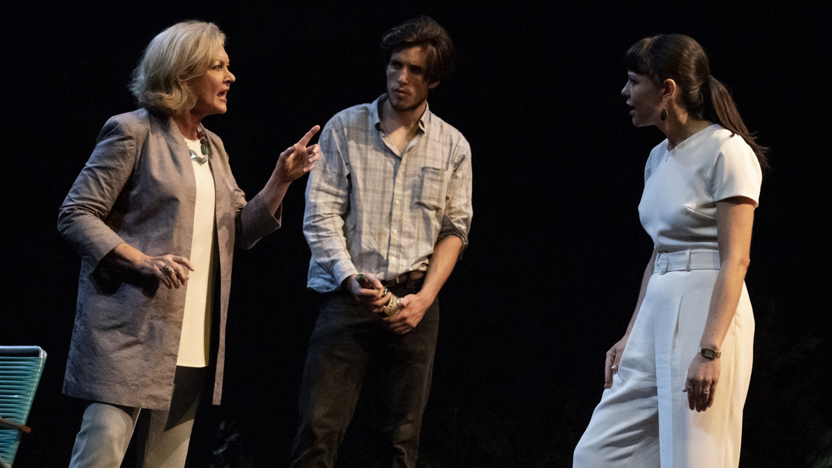 PS - Heroes of the Fourth Turning - off-Broadway - Michele Pawk - John Zdrojeski - Zoë Winters - 10/2019 - Joan Marcus