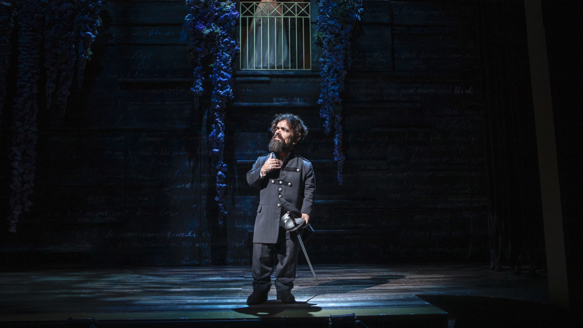 Peter Dinklage in Cyrano off-Broadway - 12/19 - Monique Carboni